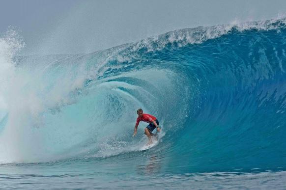 Pour la première fois la Polynésie va accueillir une épreuve des JO - Crédit photo : © Steve Dickinson