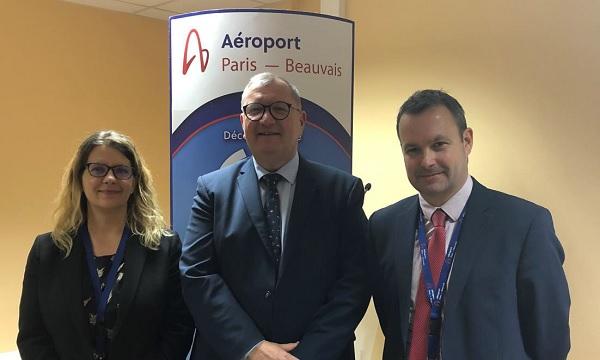 Michel Peiffer est nommé Président du Directoire de la SAGEB - Crédit photo : Aéroport de Beauvais