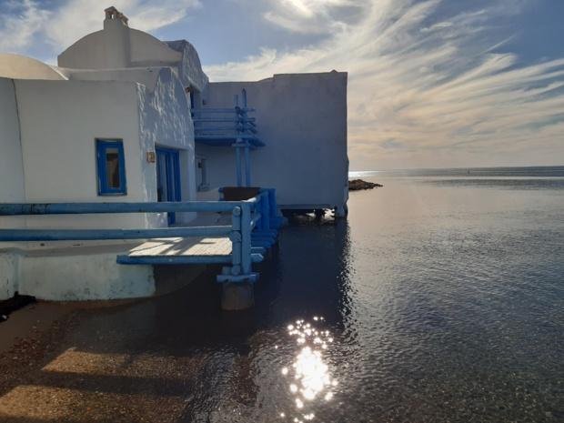 Une pépite à découvrir, les petites maisons de l'îlot de la lagune El Bibane - DR : M.S.