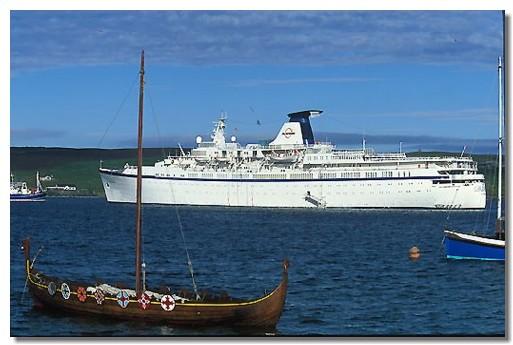 Le Princess Danaë, avec ses 17.000 tonneaux et 560 passagers a été entièrement réaménagé