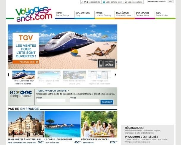 Le développement de voyages-sncf.com passe par la technologie. Le mobile représente désormais 20% de l'audience du site, soit un doublement par rapport à 2010 - DR