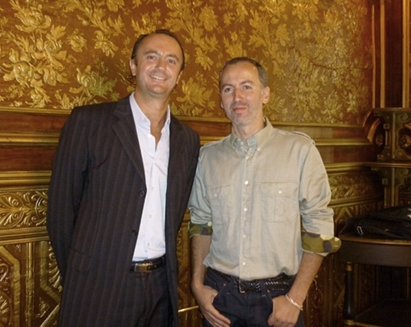 F. Bonfils (à gauche), actionnaire de Twim Travel et ancien du Groupe Karavel/Promovacances notamment comme Directeur des Opérations. A droite, P.-A. Romano, créateur de Twimtravel /photo dr
