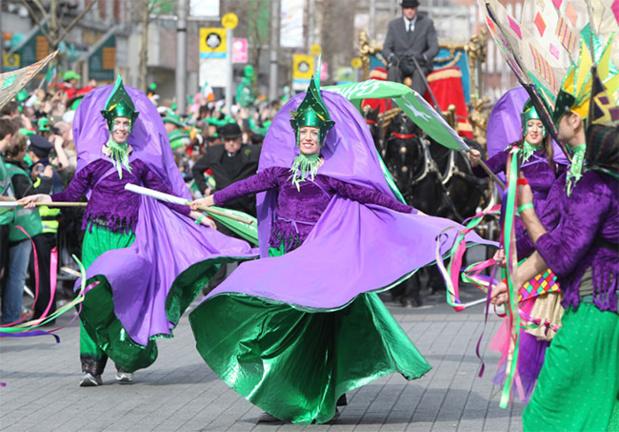 Festivités de la Saint-Patrick Co. Dublin - Copyright Tourisme Irlandais