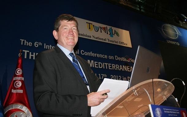Frédéric Pierret, directeur exécutif de l'OMT, se veut optimiste mais fixe le cap (photo JB/TourMag.com)