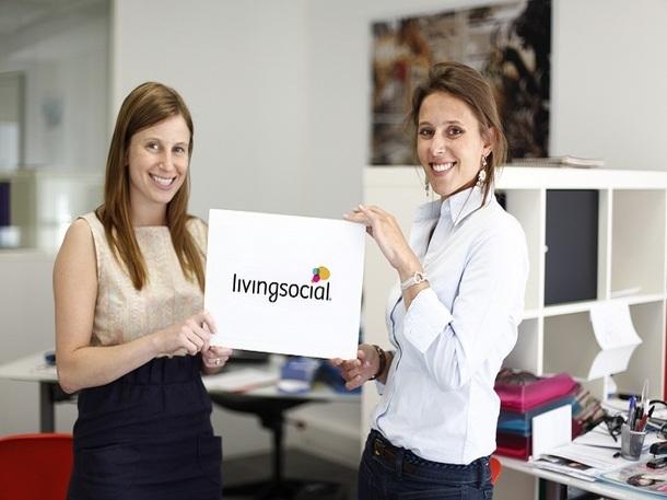 Tatiana Jama (à gauche), CEO et Lara Rouyres (à droite), Présidente de Living Social France - Photo DR