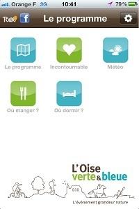 Oise Verte et Bleue : une appli pour préparer l'évènement