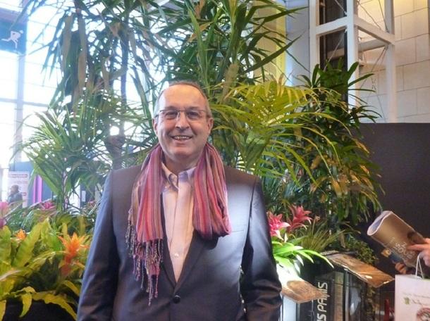 """Lucien Klat au dernier salon """"Mondial à Paris"""" - Photo DR"""