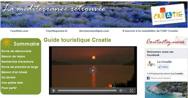 Le manuel de vente en ligne sur la Croatie est en ligne sur TourMaG.com - DR