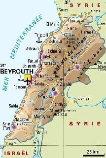 Liban : le tourisme durement frappé