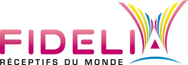 En attendant le lancement du site Internet, voici le logo adopté par Fidelia - DR