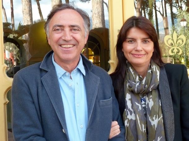 Jean-Baptiste et Marie Ceccaldi, les heureux propriétaires du Domaine de La Signoria. /photo JDL