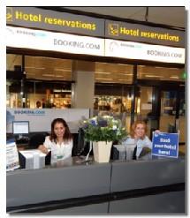 Booking.com débarque à Schiphol