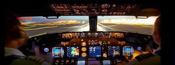 Le centre de simulation FlightAdventures de l'aéroport de Strasbourg ouvre ses portes au public en mai 2012 - Capture d'écran www.flightadventures.fr/