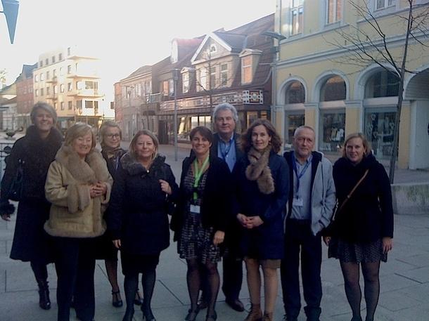 Les TO français dans les rues de Fredrikstad, ville d'accueil de la 40e édition du workshop norvégien. DR