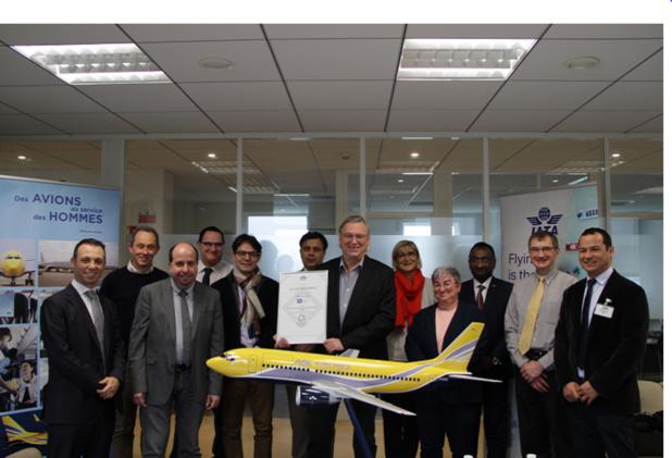 Les équipes ASL Airlines France et IATA France-Belgique-Pays-Bas se réunissent à Paris /crédit photo dr