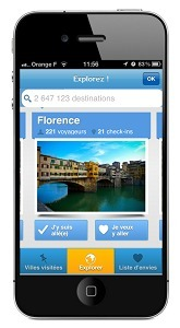 La version 3.0 de l'application iPhone de Wipolo est disponible depuis le 24 avril 2012 - DR