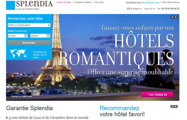 Splendia regroupe 5 000 hôtels dans 120 pays, sur une offre potentielle de 100 000 hôtels et chambres d'hôtes de luxe dans le monde - DR