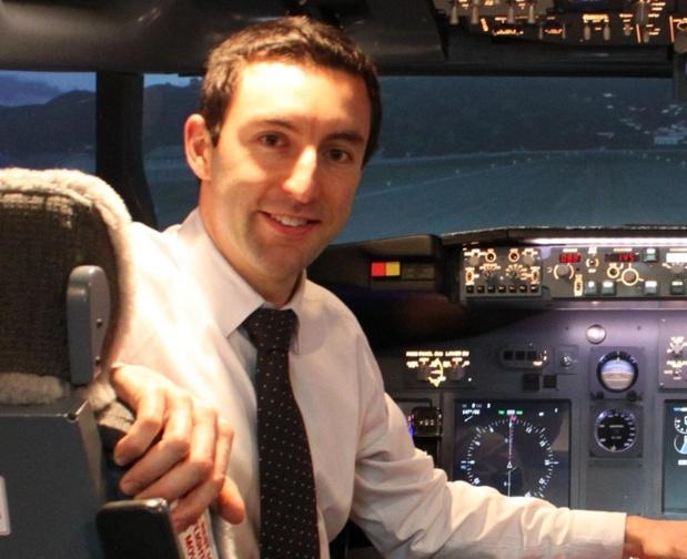 """Xavier Tytelman a été invité chez Boeing avec l'étiquette """"Analyst and crisis communication"""" - DR"""