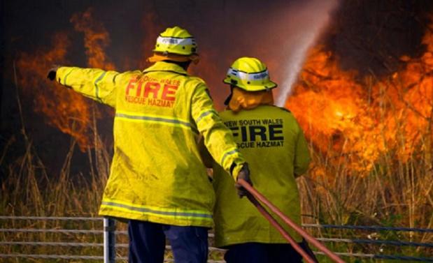 L'Australie est en proie à de violents incendies depuis plusieurs semaines, notamment dans le sud est du pays. - DR Australian Government Department of Health @healthgovau