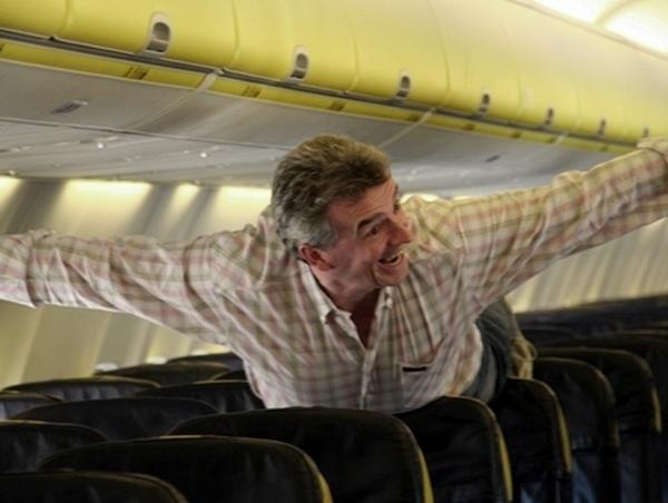 Michael O'Leary, patron de Ryanair, se classe au 19ème rang des Irlandais les plus riches avec 350 millions de livres. Le low cost peut rapporter gros !  - DR