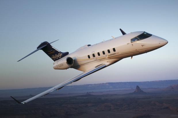 Un Bombardier Challenger 300 ©Air Charter
