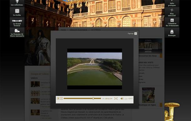 Au-delà des tâches traditionnelles (Marketing /accueil/promotion/commercialisation de l'offre, mise en visite e-tourisme comme ici pour le Château de Versailles), un nouveau calendrier, de nouvelles collaborations sont au programme dès la conception d'un site culturel ou d'une nouveau catalogue d'offre touristique - DR