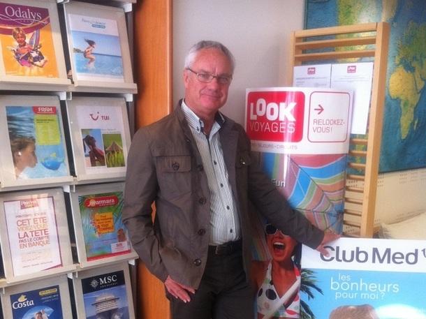 André Lucas est le directeur général du mini-réseau Atéa Voyages - Photo DR