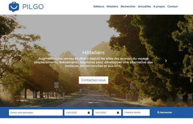 Pilgo référence plus de 12 000 hôtels en France, et a développé sa commercialisation en direct face aux agences de voyage en ligne - DR : Pilgo