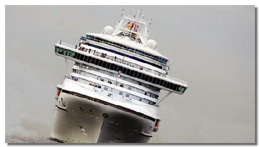 Voici la simulation de la gîte prise par le bateau, impressionnant, non ?