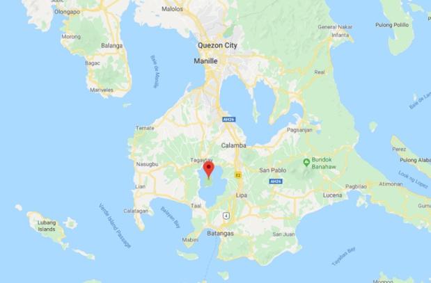 Le MEAE recommande de limiter les déplacements à l'extérieur et de se protéger les voies respiratoires - DR Google Map