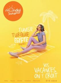 La brochure Été 2020 arrive dans les agences de voyages - DR : Mondial Tourisme