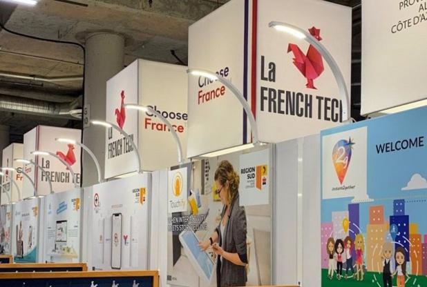 A Eurekapark les start-up sont classées...par région - Crédit photo : French Tech Aix-Marseille