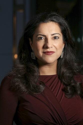 Reshma Saujani sera chargée de nommer le nouveau navire lors de la cérémonie de baptême à Southampton le 30 mars 2020 - Photo Fuzheado Wikipedia