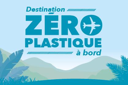 Air Austral a décidé de supprimer les plastiques à bord - DR