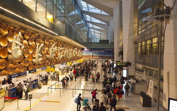 Aéroport de Delhi - DR