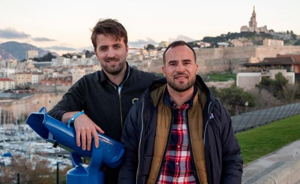 """Ronan de la Paquerie et Fabien da Luz, un partenariat sous le haut patronnage de la """"Bonne Mère"""" /photo dr"""