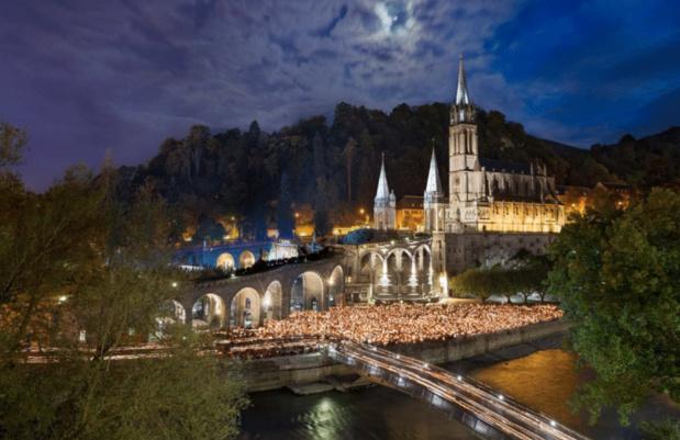 Lourdes : inspirante et spirituelle en diable !