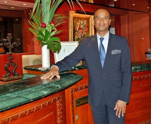 Paris : Emmanuel Traoré, directeur général opérationnel de l'Hôtel Westminster