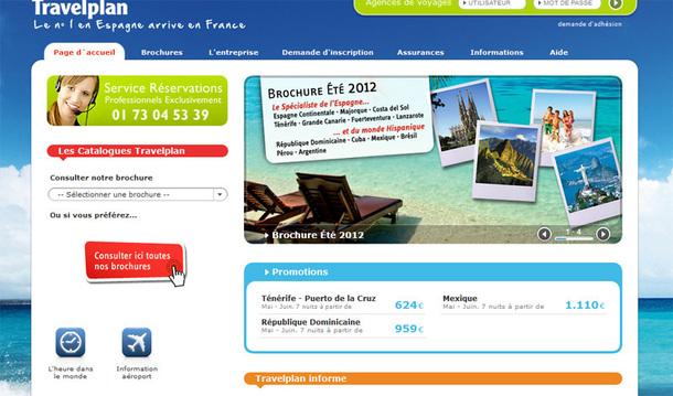 Travelplan a l'ambition de réaliser 8 000 clients sur l'Espagne (exclusivement en B2B) en 2012, et la fenêtre de tir est particulièrement propice cet été - DR