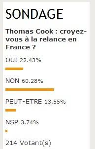 Thomas Cook : vous ne croyez pas à l'avenir du TO en France