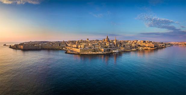 La Valette, capitale de Malte © Malta Tourism Authority