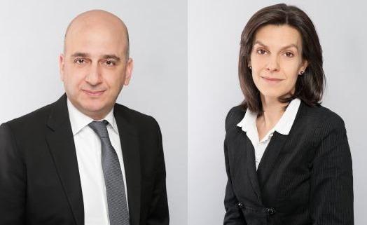 Gabriel Matar (à gauche) devient Directeur de la région Afrique et Moyen-Orient pour Jones Lang LaSalle Hotels. Gwenola Donet (à droite) le remplace en tant que Directeur France - Photos DR
