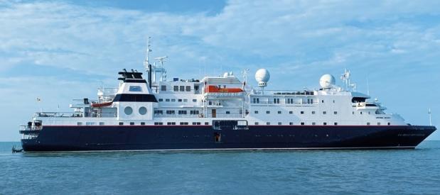 Notre actualité de rentrée est très chargée avec le lancement de la Belle des Océans. Ce navire maritime haut de gamme propose une croisière sur le Canada entre Saint-Pierre-et-Miquelon et Montréal. - Photo Croisieurope