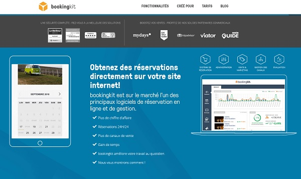 bookingkit va pouvoir toucher plus d'un million d'utilisateurs - Crédit photo : bookingkit