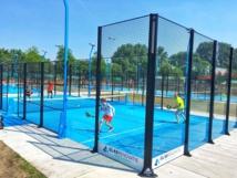 La Toupie Bleue s'est positionnée sur une activité physique peu connue en France, le Padel Tennis - Crédit photo : Toupie Bleue