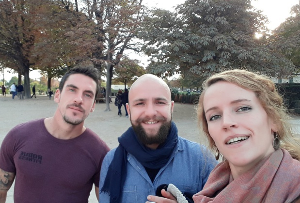 David, Alexis et Alice viennent de lancer Serenji Travel afin de proposer des séjours en immersion totale au sein de communautés isolées - DR : Serenji Travel