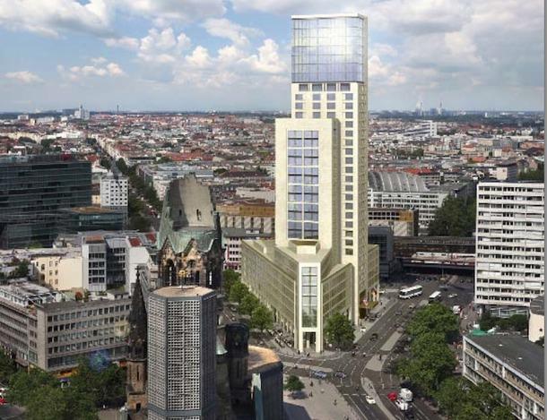Le Waldorf Astoria de Berlin ouvrira ses portes l'été prochain. Il espère accueillir une clientèle de luxe et d'affaires - DR