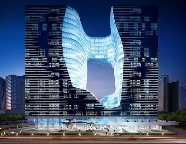 Autre lieu qui servira de point chute à vos clients : ME Dubai - Crédit photo : ME Dubai