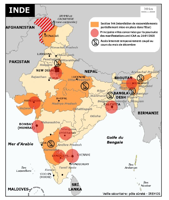 Inde: la loi controversée sur la citoyenneté continue de mobiliser