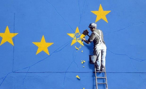 Oeuvre de Banksy dédiée au Brexit - DR